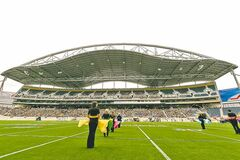 Bombers executives said the dry run for the stadium was successful.