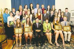 Twenty-nine nominees were recognized for their excellence in athletics and academics.
