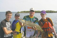 Pioneer Camp�s fishing camp is getting more and more young people hooked on angling.