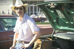 Actor Matthew McConaughey is shown in a scene from the film Dallas Buyers Club. (Supplied photo)