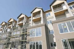 Allure Condominiums outside at 3411 Pembina Highway�See Todd Lewys Story- July 28, 2014   (JOE BRYKSA / WINNIPEG FREE PRESS)
