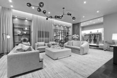 BELOW: Holt Renfrew�s luxury apartment personal shopping experience at Yorkdale mall in Toronto.