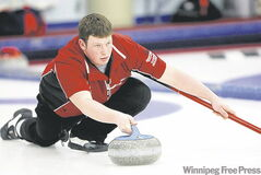 Andrew McMillan has curled his way into the men's provincial juniors.