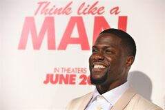 FILE - In this Monday, June 9, 2014 file photo, Kevin Hart, a cast member in
