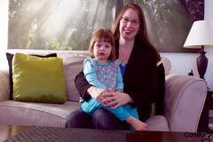 Joleen Dilk Salyn is hosting seminars in March to help children, like her daughter Falena, and parents get a better night's sleep.