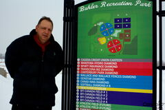 Buhler Recreation Park facility manager Steve Mymko is excited to see the park expand its winter activity offerings.