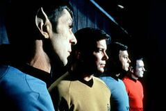 Members from the cast of the original Star Trek television series.