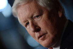 Interim federal Liberal Party Leader Bob Rae
