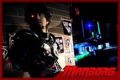 Manborg embraces the schlocky apocalyptic sensibilities of dystopian '80s films.