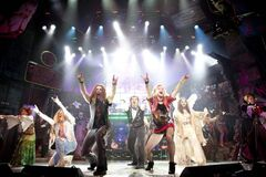 Rock of Ages is a like a K-Tel Greatest Hits of the '80s package with contributions from bands such as Journey, REO Speedwagon, Styx and Pat Benatar.
