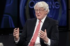 ADVANCE FOR SUNDAY, AUG. 24 AND THEREAFTER - FILE - This March 4, 2014 file photo shows William Koch, brother of Charles Koch and David Koch interviewed in New York. They're demonized by Democrats, who lack a liberal equal to counter their weight, and not entirely understood by Republicans, who benefit from their seemingly limitless donations. (AP Photo/Richard Drew, File)