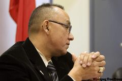 AMC Grand Chief Ron Evans demands the Province of Manitoba fast track the construction of an all-weather road to the Island Lakes Community to help end the no running water crisis.