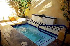 Alvadora Spa at the Royal Palms in Phoenix, Ariz. offers outdoor whirlpool baths and signature treatments to indulge the senses.