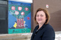 Sharon Pekrul, principal at Isaac Newton School.
