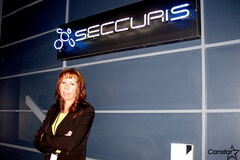 Karen Kabel, technical solutions manager for Seccuris Inc., says teens have more need than ever to practice cyber-security.