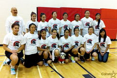 The Sisler HIgh School junior varsity girls basketball team is currently ranked first both in its division and in the provincial standings.