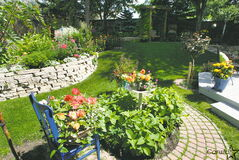 Sadly, columnist Heather Tiede believes her Windsor Park garden will never quite look like this.