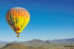A hot-air balloon adventure is the perfect way to see Phoenix and area in the 'Valley of the Sun'.