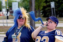 Tailgating returned Sunday at Investors Group Field, as both Bomber and Rider fans ate and drank together before a 25-13 victory for Winnipeg in the 'Banjo Bowl.'