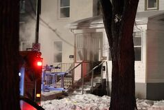 No one was hurt in a Christmas Eve fire at 727 Lipton St. described as minor by the Winnipeg Fire Paramedic Service