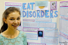 "Katelyn Waldner said a documentary led her to examine the psychology of eating disorders.""It's become such a huge issue these days I thought people should learn about it...I learned so much,"" said Waldner, one of three girls headed to Lethbridge for the national competition in May."