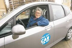 KEN GIGLIOTTI  / WINNIPEG FREE PRESS ARCHIVES Beth McKechnie, manager of Peg City Car Co-op, says the company's service would be much better if it could increase its fleet size to 11 cars.