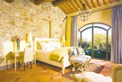 nside our Tuscany,  Italy, home for the week, courtesy Exclusive Resorts.