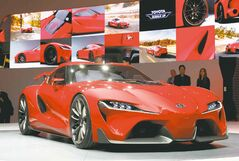The Toyota FT-1 concept.