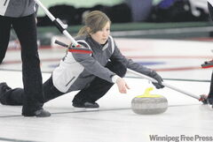 All Kaitlyn Lawes has done lately is win the �08 Canadian junior title, kick some butt on the bonspiel circuit and cruise through the provincials round-robin undefeated.