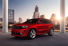 A 2014 Jeep Grand Cherokee SRT is pictured in a recent handout photo. THE CANADIAN PRESS/HO, Chrysler Group LLC