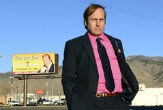 FILE - This file image released by AMC shows Bob Odenkirk in a scene from the final season of