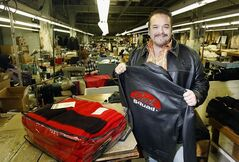 Saxon Leather's Len Hirsch wants to continue the 65-year-old company's handmade-leather-jackets business, but can't find enough people to make them.