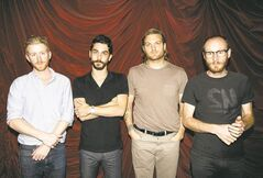 In this Jan. 24, 2011 file photo, from left, Jonnie Russell, Matt Aveiro, Nathan Willett, and Matt Maust, from the band Cold War Kids, pose for a portrait in Los Angeles. (AP Photo/Matt Sayles)