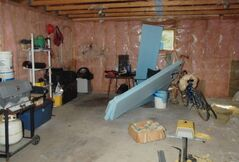 The garage as RCMP found it on Sept. 7, 2008.