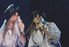 Kid Rock is known for dabbling in all kinds of musical genres: hip-hop, hard rock, country and Southern rock. Classical? Not so much. But he jumped at the chance to play a show with the Detroit Symphony Orchestra on Saturday, May 12, 2012. The concert is designed to raise some much-needed cash for the DSO, which has been on shaky financial ground in recent years. (AP Photo/Carlos Osorio, File)