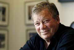 In this Jan. 30, 2011 photo, Actor William Shatner poses for a portrait in Los Angeles. Captain James T. Kirk will be on hand when the aircraft carrier USS Enterprise is officially retired. A publicist for Shatner says the actor will attend the ship's inactivation ceremony Saturday, Dec. 1, 2012 at Naval Station Norfolk. Shatner is scheduled to perform Friday in Newport News. Shatner played Kirk at the helm of the starship Enterprise in the