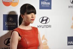 Singer Carly Rae Jepsen arrives at the Clive Davis Pre-GRAMMY Gala on Saturday, Feb. 9, 2013 in Beverly Hills, Calif. In the wake of Jepsen's cancellation of her Boy Scouts of America performance due to the group's exclusion of gays, Scouts Canada is reaffirming its stance on inclusiveness — and says Jepsen is welcome at their jamboree.THE CANADIAN PRESS/AP-John Shearer/Invision/AP