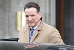 Canada's natural resources minister Greg Rickford is pictured March 19, 2014 in Ottawa. G7 energy ministers has affirmed that energy should not be used to coerce countries politically or threaten their security. THE CANADIAN PRESS/Adrian Wyld