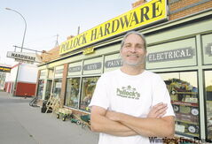 Mike Wolchock manages Pollock Hardware, a North End institution which reopened by taking advantage of the Community Enterprise Development Tax Credit program.