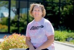 Cheryl Funk lost 56 pounds by training for the upcoming Challenge for Life walk for cancer.
