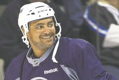Dustin Byfuglien has been invited to play.