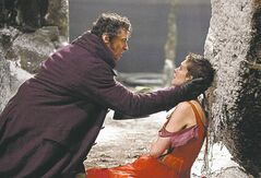 UNDATED - Jean Valjean (HUGH JACKMAN) embraces a very ill Fantine (ANNE HATHAWAY) in Les Mis�rables, the motion-picture adaptation of the beloved global stage sensation seen by more than 60 million people in 42 countries and in 21 languages around the globe and still breaking box-office records everywhere in its 28th year.  Photo Credit: Laurie Sparham Copyright: � 2012 Universal Studios. ALL RIGHTS RESERVED.
