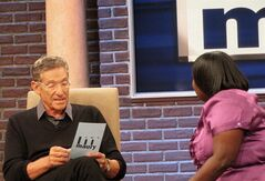 In this image released by the Maury show, veteran TV personality Maury Povich is shown on the set of his syndicated talk show,