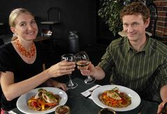 James MacKinnon and Alisa Smith, authors of 100 Mile Diet. MacKinnon will drop by the News Café Wednesday.