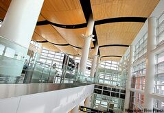 The new James A. Richardson International Airport opened in October.