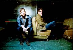 The latest album from the Black Keys  (Dan Auerbach, left, and Patrick Carney) has gone platinum in Canada.