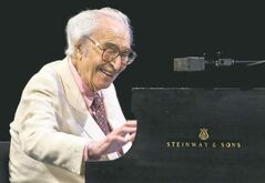 Jazz legend Dave Brubeck performs at the Montreal International Jazz Festival on July 4, 2009.