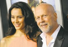 Bruce Willis, wife Emma Heming