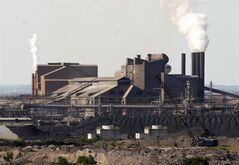 The Sparrows Point steel mill on the Patapsco River near Baltimore is shown in this Aug. 18, 2006 photo. THE CANADIAN PRESS/AP, Robert Meyers