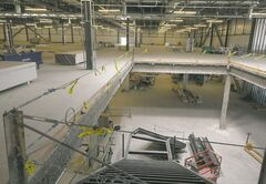 With opening set for the end of this year, the inside of IKEA's Winnipeg store begins to take shape.